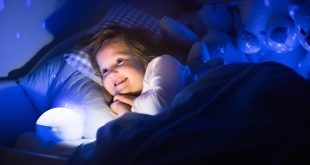 Nočna lučka za uspavanje otroka