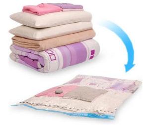 Vakuumska vreča za shranjevanje oblačil