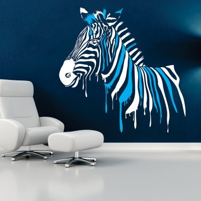 Stenska nalepka - Zebra