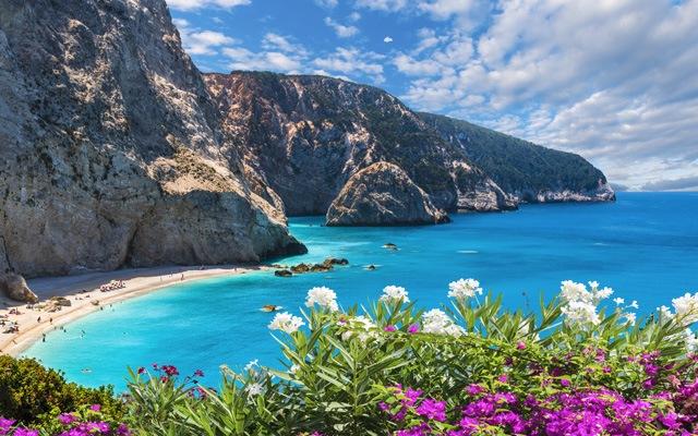 Plaža na grškem otoku