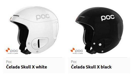 Smučarska čelada POC Skull X
